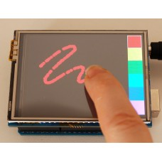 """2.8"""" TFT Touch Shield for Arduino (2.8"""")"""