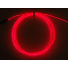 High Brightness Pink Electroluminescent (EL) Wire - 2.5 meters (High brightness, long life)