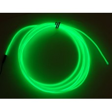 High Brightness Green Electroluminescent (EL) Wire - 2.5 meters (High brightness, long life)