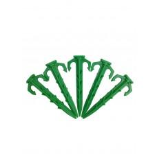 """EZPeg Biodegradeable Plastic Stakes, 4"""""""