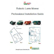 Paradise Robotics Exclusive Robotic Lawn Mower Professional Installation Guide - 2 Styles