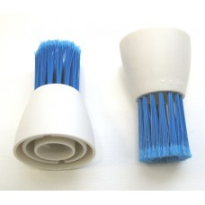 Automatic Power Cleaning Tool Fine Soft Replacement Brush (2-Pack)