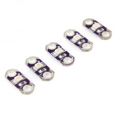 LilyPad LED Purple (5pcs) Sewable Electronics
