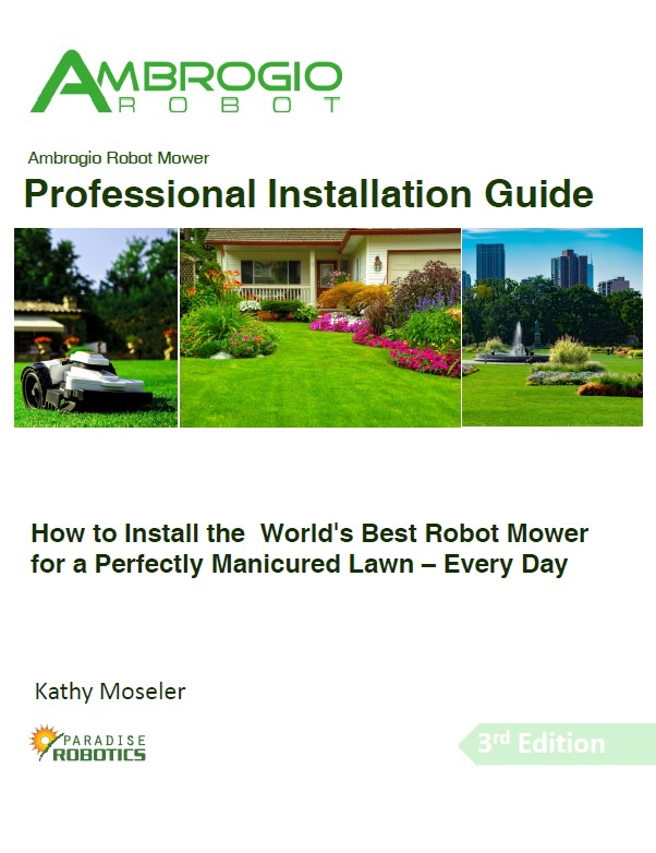Ambrogio Robot Installation Guide Cover