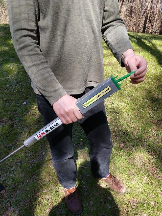 ezpeg biodegradeable stake tool loading